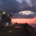 Malecon (seawall), two blocks from the house
